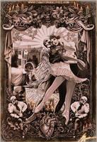 The Black Heart Ballet by Christopher Lovell by Lovell-Art