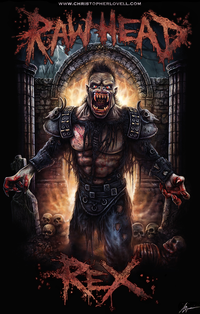 Rawhead Rex - Christopher Lovell Art by Lovell-Art on ... Labyrinth Movie Wallpaper