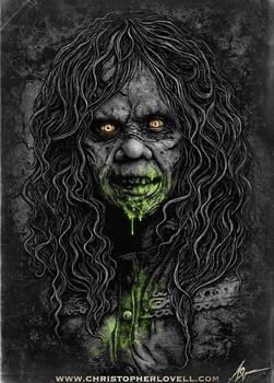 The Exorcist - By Christopher Lovell Art
