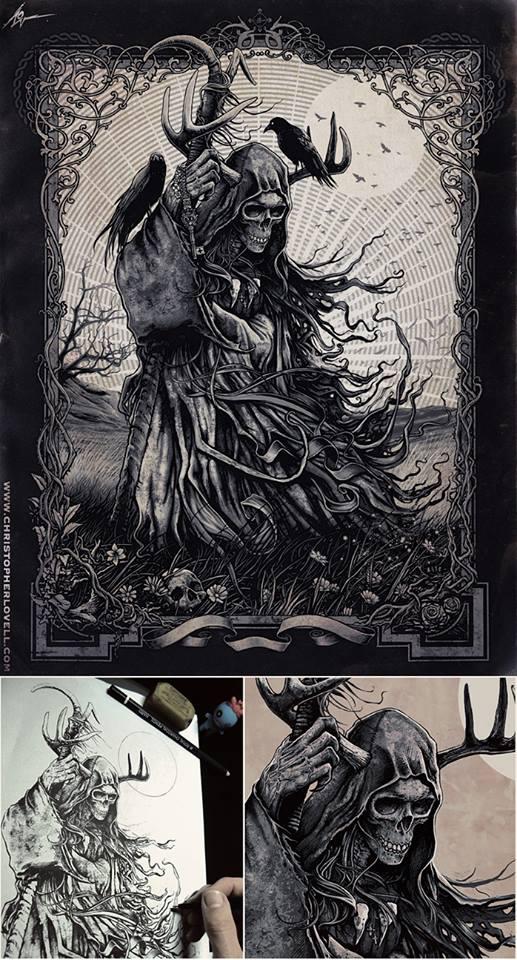 The Messenger by Lovell-Art
