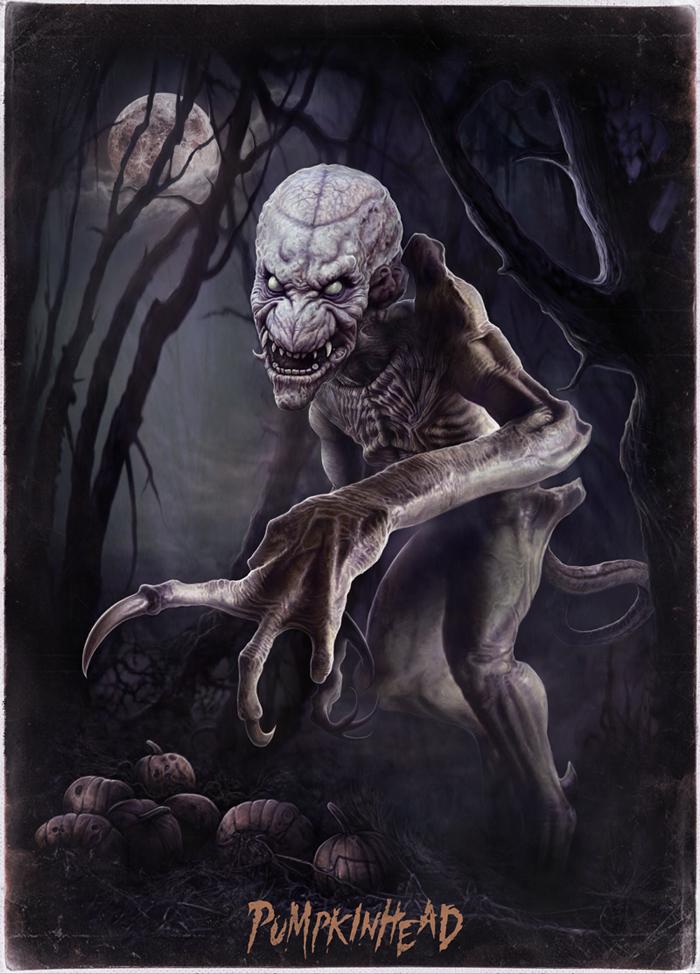 Pumpkinhead - Christopher Lovell Art by Lovell-Art