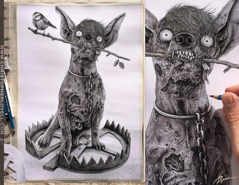 Chihuahua Dilema! by Lovell-Art