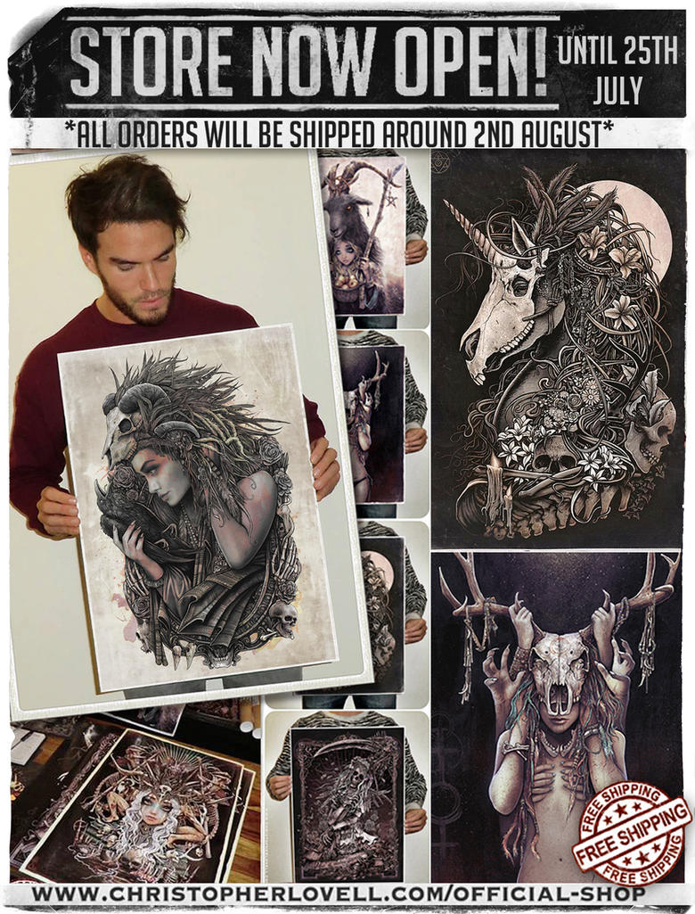 PRINTS AVAILABLE UNTIL 25th JULY! by Lovell-Art