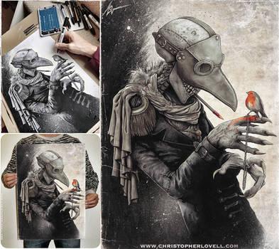 Plague Dr by Lovell-Art