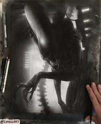 Alien Big Chap by Lovell-Art