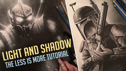 (VIDEO) LIGHT AND SHADOW - ART DYNAMICS TUTORIAL
