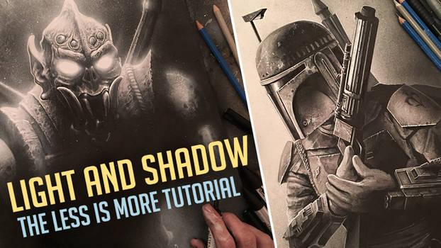 (VIDEO) LIGHT AND SHADOW - ART DYNAMICS TUTORIAL