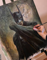 BATMAN *WIP* by Lovell-Art