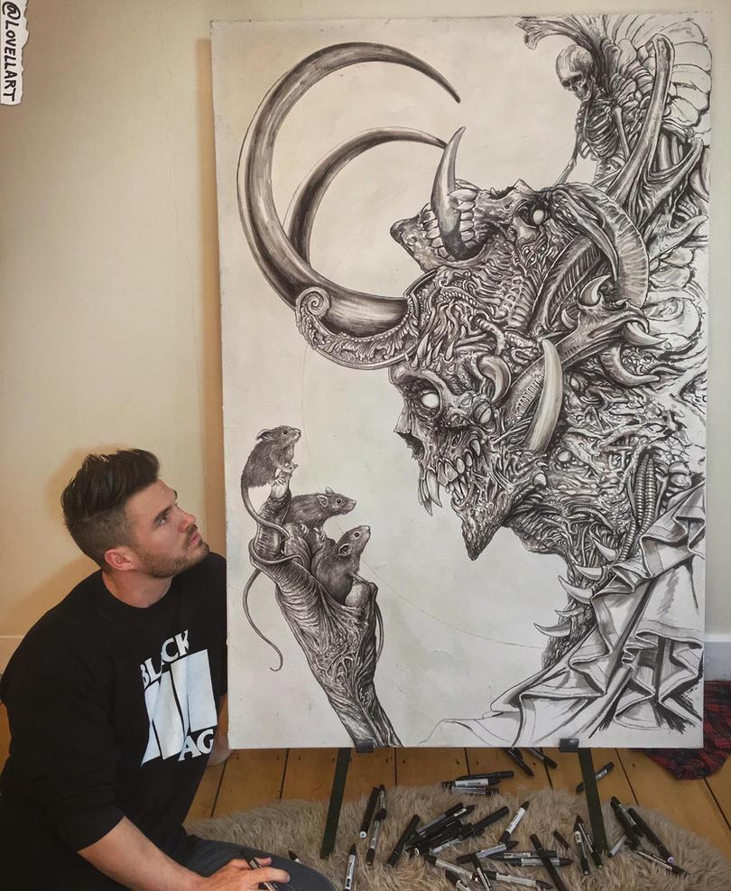 Work In Progress - WIP by Lovell-Art