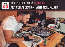 NEW ART COLLABORATION VIDEO!