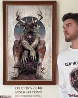 'Wrag Ord' LTD Edition Print Available now!