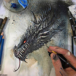 HOW TO DRAW A DRAGON: VIDEO ON YOUTUBE! by Lovell-Art