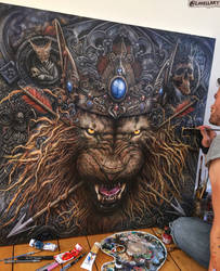 KING - WIP by Lovell-Art
