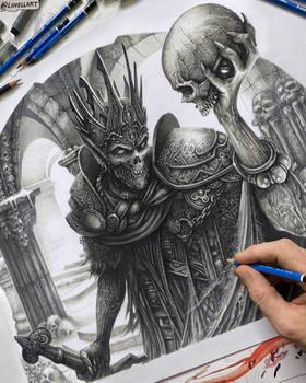 'Narfi Betrayer King' by Christopher Lovell