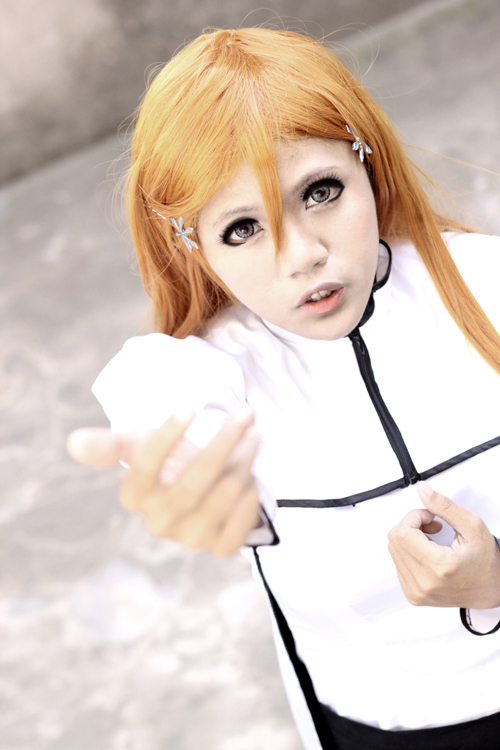 Orihime Inoue - Touch my hand by recchinon