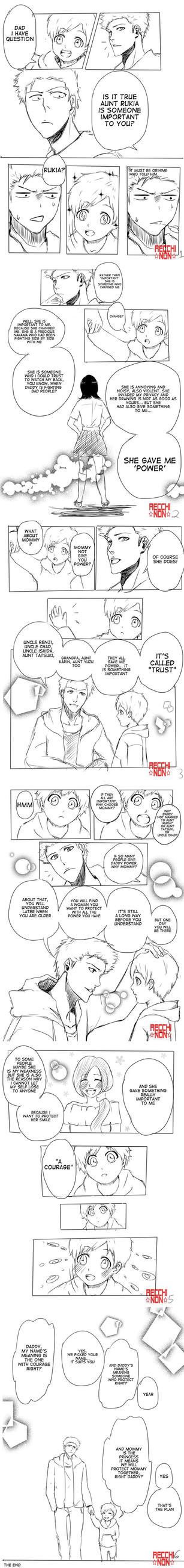 Bleach mini doujin 1 by recchinon