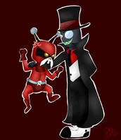 How about a Villainous and L.O.S.E crossover? by xBrokenIllusionx