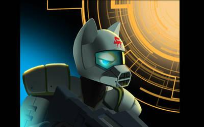 Fox McCloud Commando by GeneralsAlert