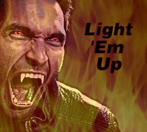Derek Hale || Light 'Em Up by GedweyKona