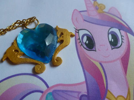 Princess Cadence Cutie Mark Necklace