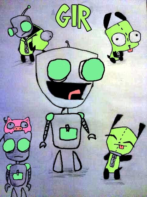 My GIR's of doooom! (now in colour) by Cutediepie