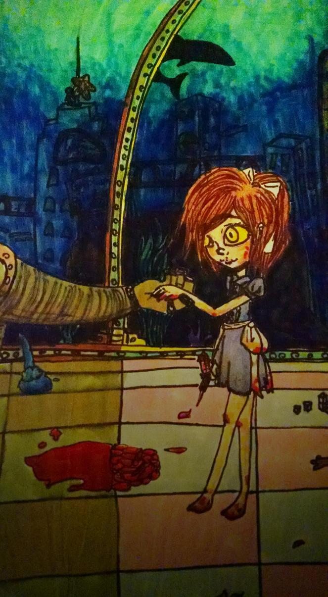 BioShock Fan Art:  Come Home by Cutediepie