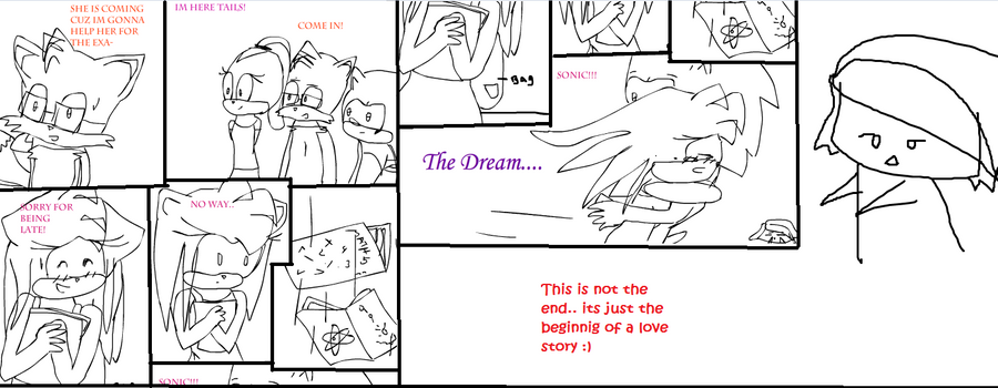 The dream part 6 sonamy by Shikerii