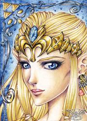 ATC - Zelda's tiara by 1000Dreams