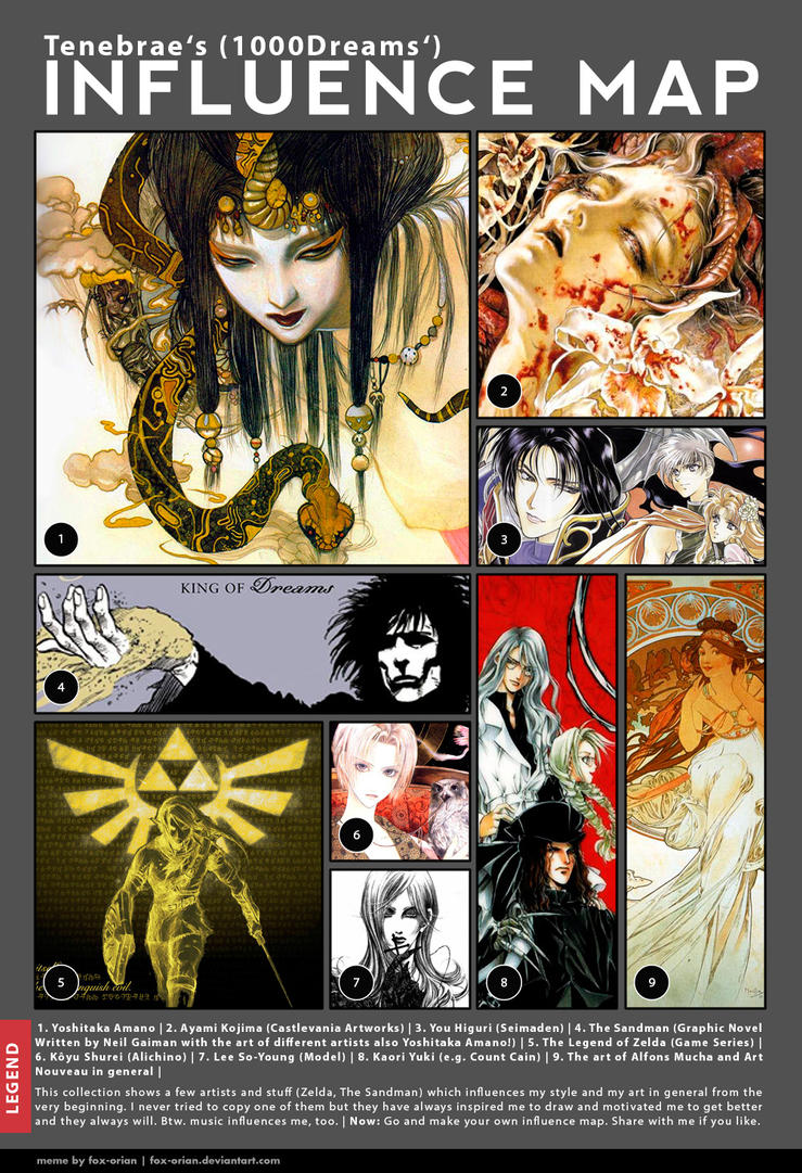 Influence Map by 1000Dreams