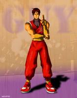 Final Fight Guy by neoastro