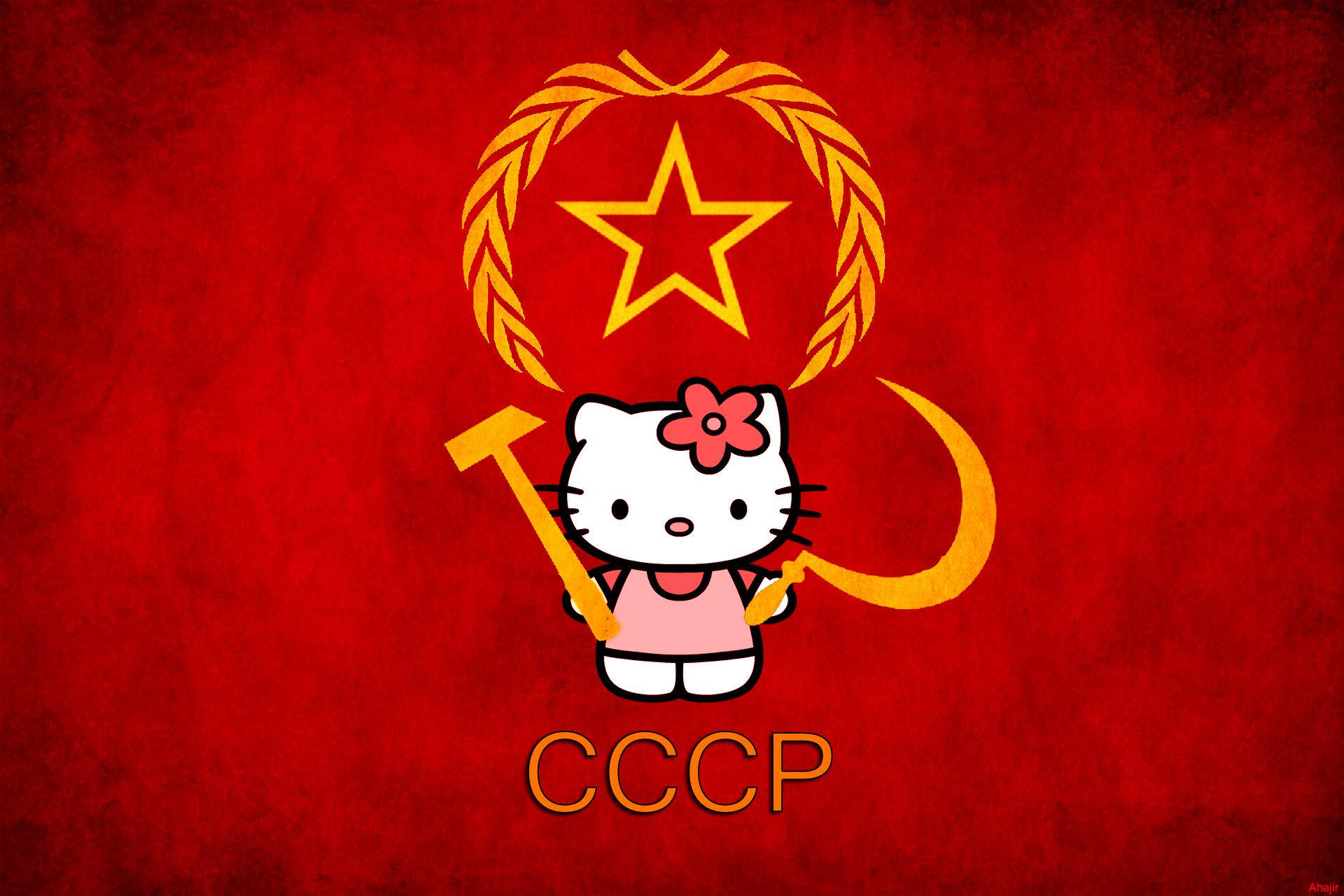 Hello Kitty Soviet Russia Edition by Akuj on DeviantArt