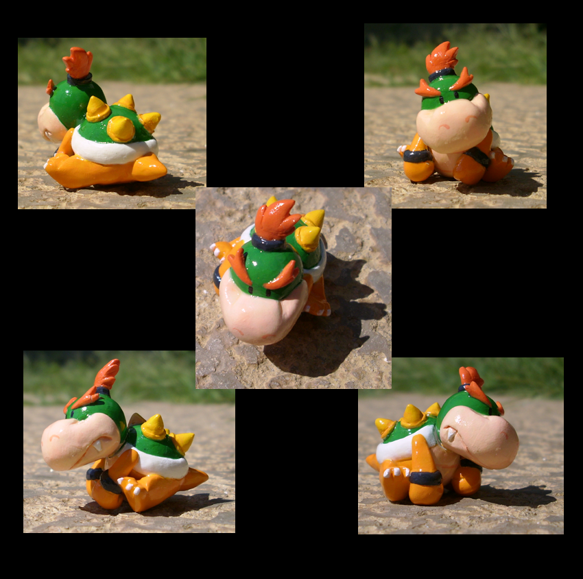 Baby Bowser by pixipanda