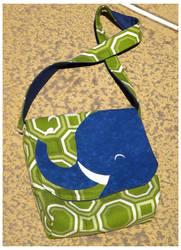 Elephant Bag by pixipanda