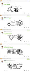 Miiverse Drawings - 10 by MrBrMario