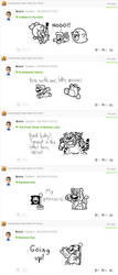 Miiverse Drawings - 12 by MrBrMario