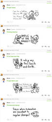 Miiverse Drawings - 13 by MrBrMario