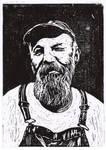 Seasick Steve [Lino cut]