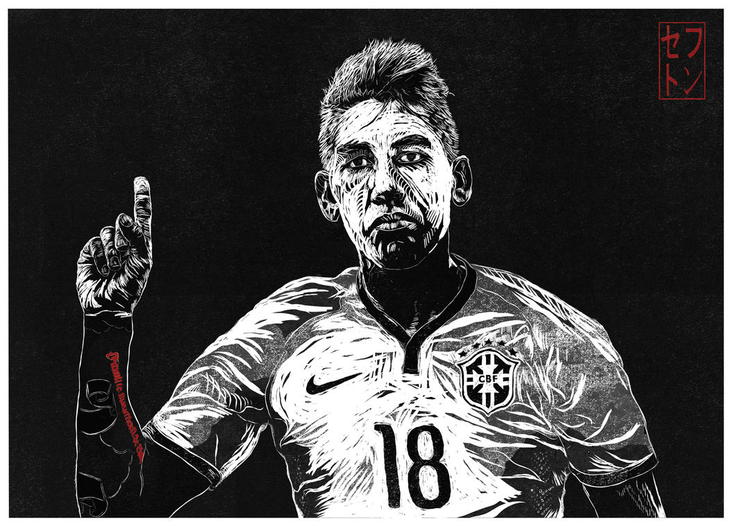 Roberto Firmino [Liverpool FC] By JackSephton On DeviantArt