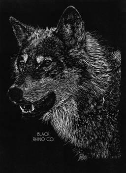 Final Design - Wolf - Black Rhino Co. T-Shirt