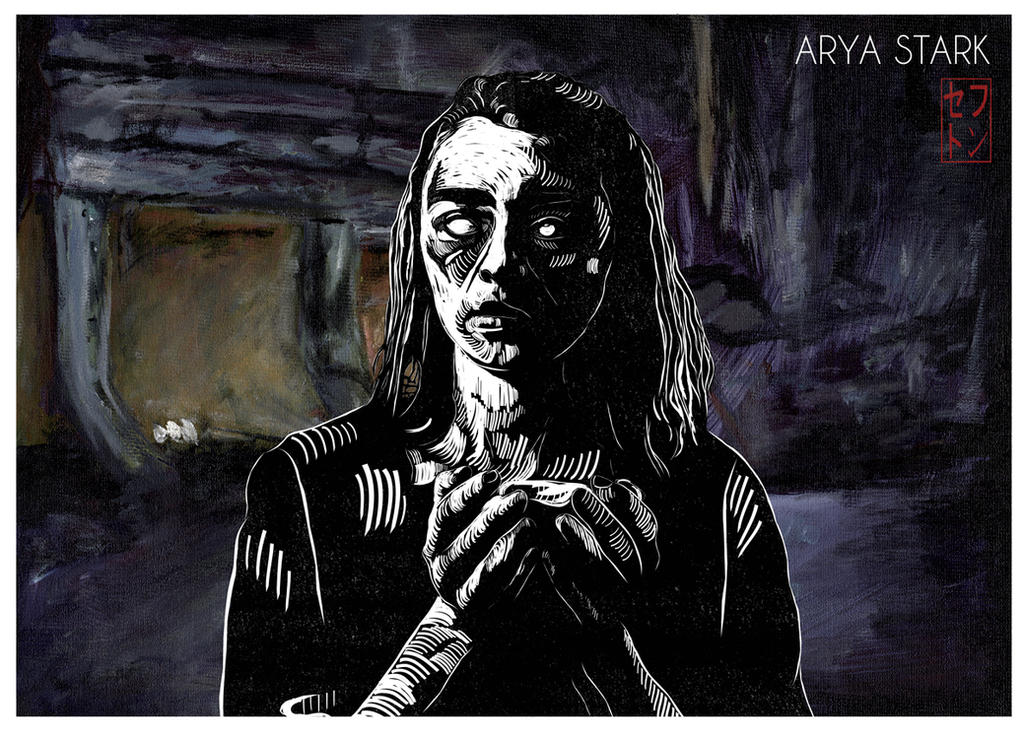 Arya Stark [Game of Thrones] by JackSephton