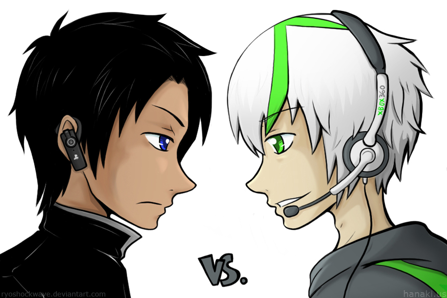 ps3 vs xbox 360 by arosyks on deviantart