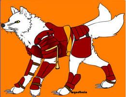 Samurai Wolf (no Helmet)