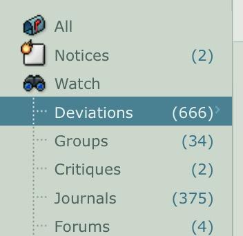 666 by DarciathePurpleWolf