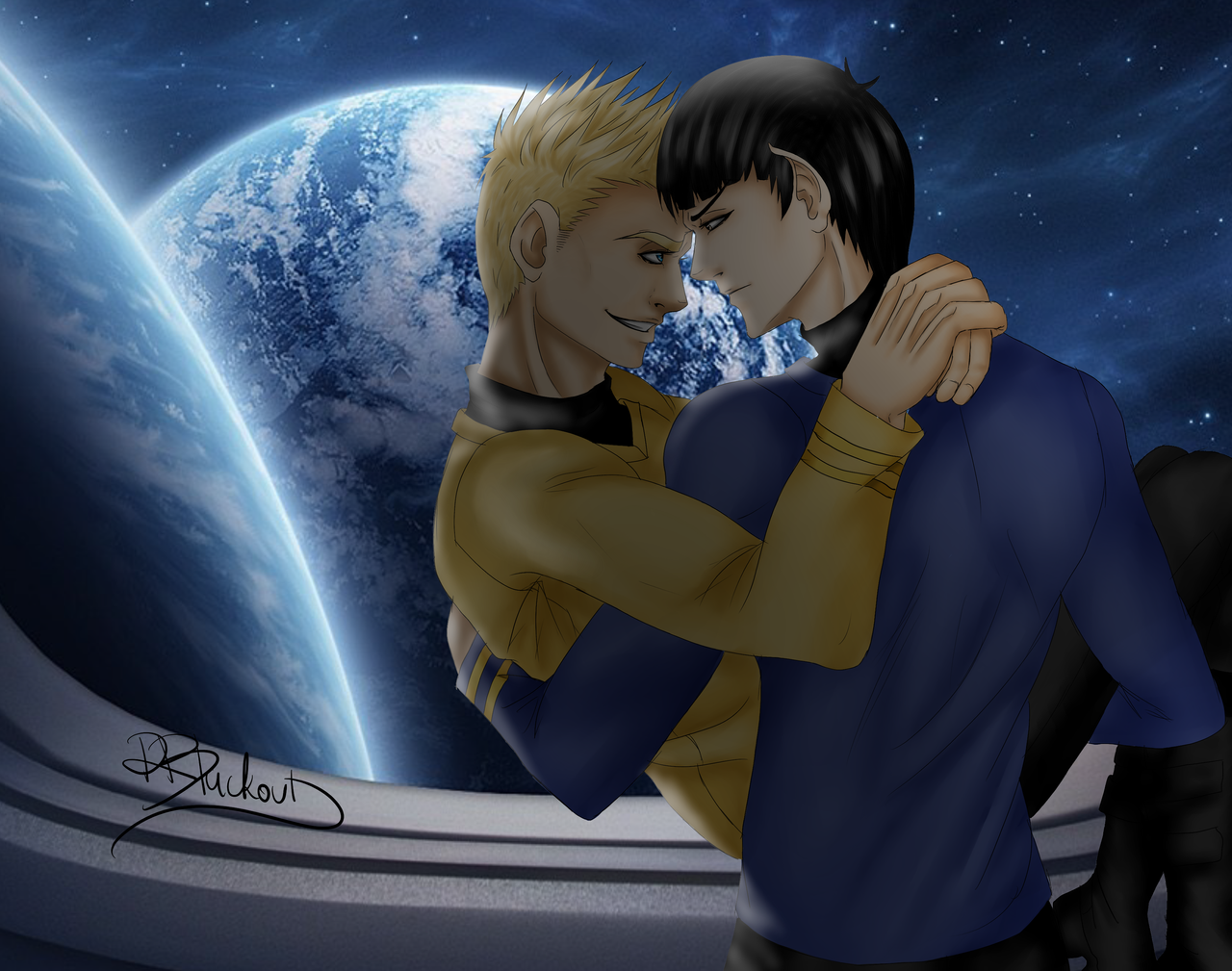 Spock x Kirk- Time For Us by R-Blackout