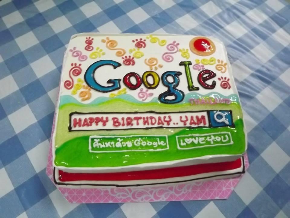 Google Cake by maxalate