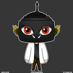(Chibi) SCP-901-TH Tossakan Head by maxalate