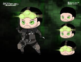 Splinter Cell Blacklist - SAM FISHER by maxalate