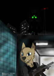 Splinter Cell (Furry Style) by maxalate