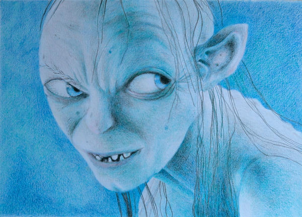 Gollum by JettieHier