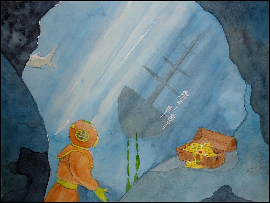 Treasures from the darkest depths by JettieHier